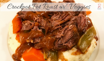 Crockpot Pot Roast w/ Veggies