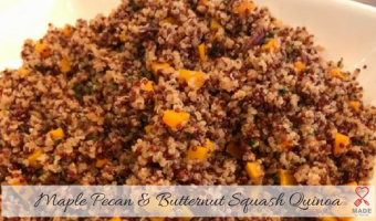 Maple Pecan & Butternut Squash Quinoa