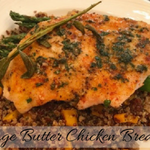 Sage Butter Chicken Breasts
