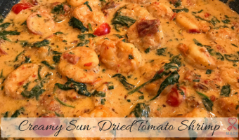Creamy Sun-Dried Tomato Shrimp