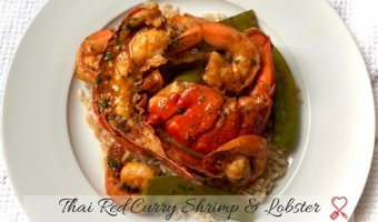 Thai Red Curry Shrimp and Lobster