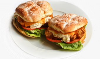 Home MADE Fish Filet Sandwich
